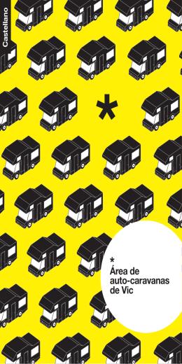 folleto área de autocaravanas de Vic