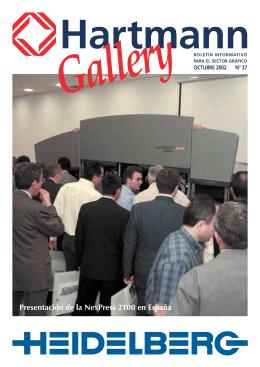 Hartmann Gallery. Octubre 2002