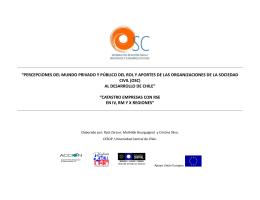 CATASTRO DE EMPRESAS IV RM y X CON