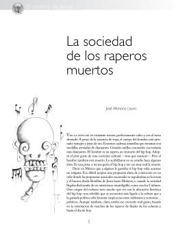 La sociedad de los raperos muertos