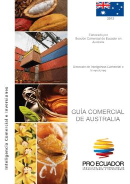 GUÍA COMERCIAL DE AUSTRALIA