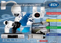 barreras de infrarrojos - ECV Vídeo Seguridad SA
