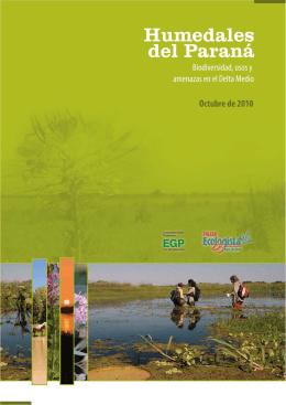 Humedales del Paraná. Biodiversidad, usos y