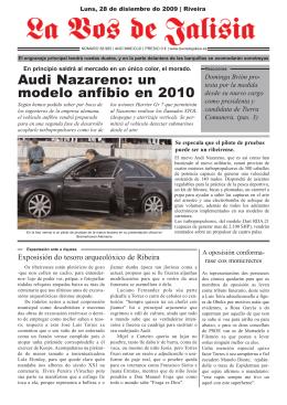 Audi Nazareno: un modelo anfibio en 2010