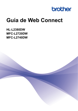 Guía de Web Connect
