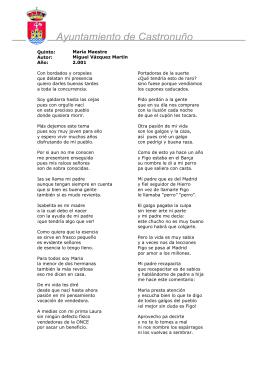 María Maestre - Ayuntamiento de Castronuño