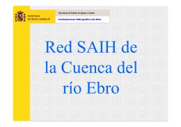 Diseño del SAD del SAIH-EBRO
