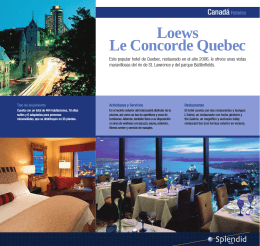 Loews Le Concorde Quebec