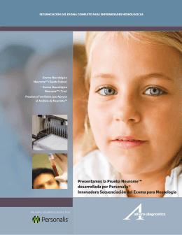 Presentamos la Prueba Neurome™ desarrollada por Personalis