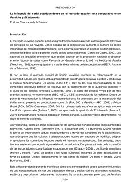 859 La influencia del serial estadounidense en el mercado español