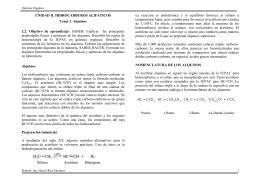 UNIDAD II. HIDROCARBUROS ALIFÁTICOS Tema 3. Alquinos 2.2