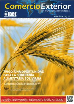 Trigo, una oportunidad para la soberanía alimentaria boliviana
