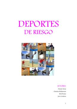 DEPORTES DE RIESGO _gaztelerako txostena