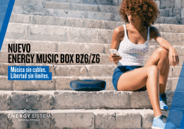 NUEVO ENERGY MUSIC BOX BZ6/Z6