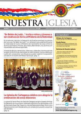 La Iglesia de Cartagena celebra con alegría la ordenación de once