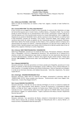 LOS COLORES DEL NORTE Duración: 9 Días / 8