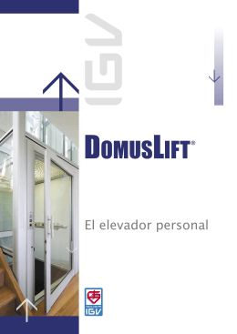 Brochure SPA - Domus Lift.indd
