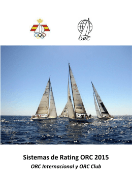ORC Rating Systems 2015 _español_