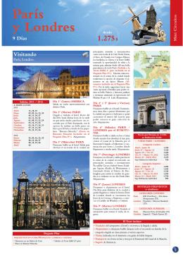 Paris y Londres - Bienvenidos a Reber Travel