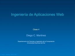 Clase 04 - Departamento de Ciencias e Ingeniería de la