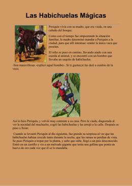Hans Christian Andersen - Las Habichuelas Mágicas