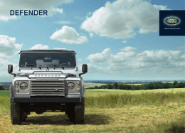 DEFENDER - Land Rover Colombia
