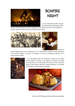 BONFIRE NIGHT - WordPress.com