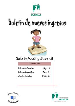 Novedades Febrero 2011 - Infantil-Juvenil
