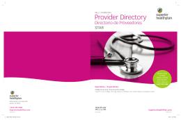 Provider Dire Provider Dire Provider Directory