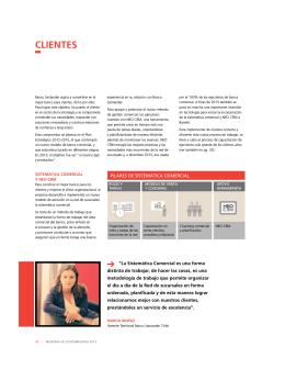 CLIENTES - Banco Santander