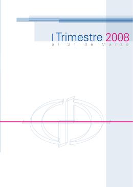 Informe Trimestral 2008