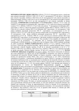 Ficha técnica de Gonal-F