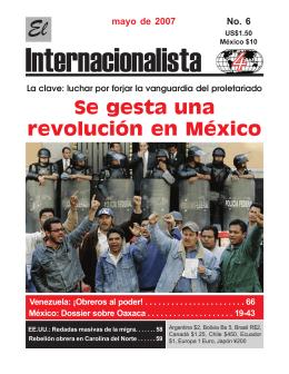 El Internacionalista No 6.pmd