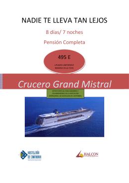 Crucero Grand Mistral