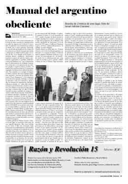 Manual del argentino obediente