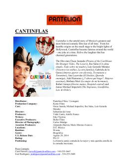 CANTINFLAS - Lionsgate Publicity