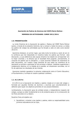 Memoria Curso 2013-2014
