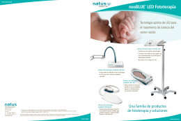 neoBLUE® LED Fototerapia