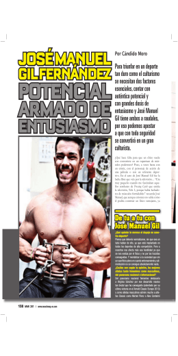 ENTUSIASMO - Musclemag