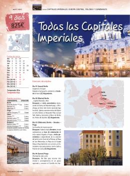 Todas las Capitales Imperiales