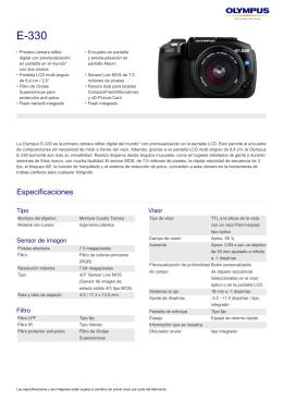 E-330, Olympus, Digital SLR
