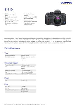 E-410, Olympus, Digital SLR
