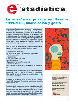 La enseñanza privada en Navarra 1999