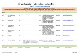 - Viviendas en alquiler Gran Canaria - docentes de canarias