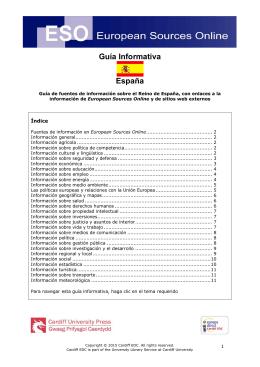 Guía Informativa España