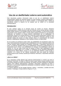 Form Uso de un desfibrilador externo automático SEMICYUC.d–