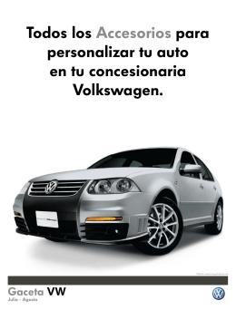 Todos los Accesorios para personalizar tu auto en tu concesionaria