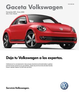 Gaceta Volkswagen - Volkswagen de México