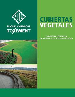 *Cubiertas Vegetales