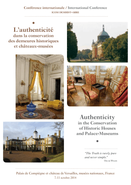 L`authenticité Authenticity - demhist.at